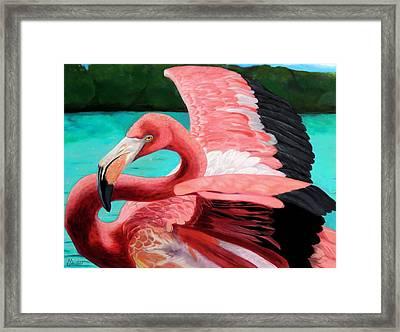 The Phoenix Framed Print by Maritza Tynes