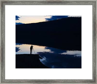 The Photographer Framed Print by Aaron Aldrich