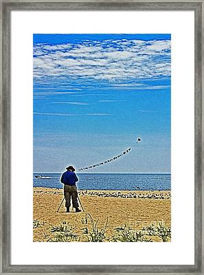 The Photographer Framed Print by Tom Gari Gallery-Three-Photography
