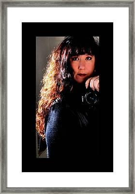 The Photographer Framed Print by Karen Scovill