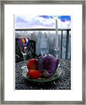The Photographer Framed Print by Madeline Ellis