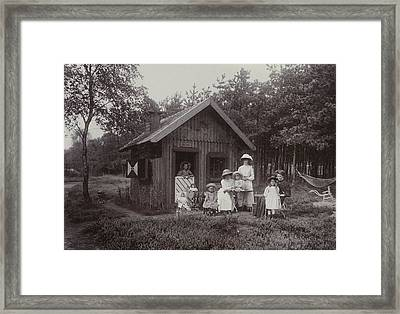 The Photographers Children, Renee, Thelma Framed Print by Artokoloro