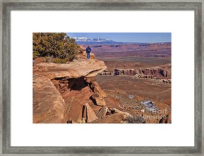 The Photographer's Perch Framed Print by Bob and Nancy Kendrick