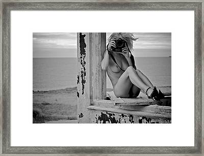 The Photographers#4 Framed Print by Jose Maria Pimentel