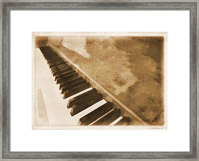 The Piano Framed Print by Dan Sproul