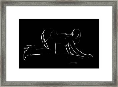 The Piano Girl Framed Print