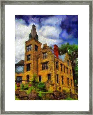 The Piatt Castle Framed Print by Dan Sproul