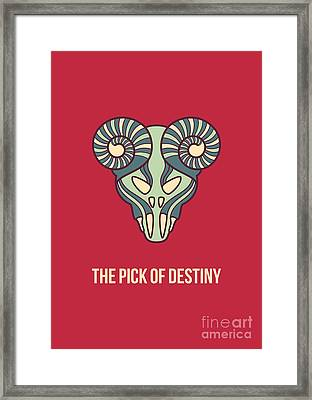 The Pick Of Destiny Framed Print by Freshinkstain
