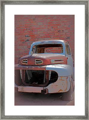 The Pick Up Framed Print by Lynn Sprowl