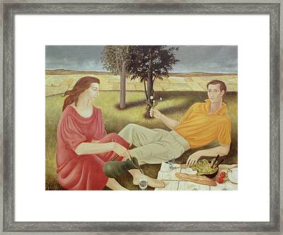 The Picnic Framed Print by Patricia O'Brien