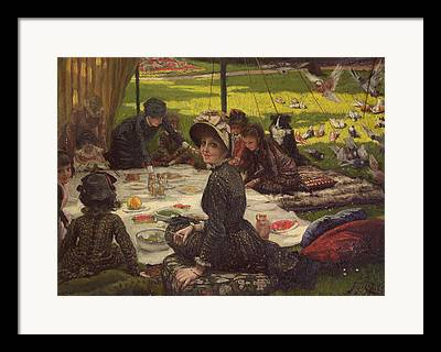 Tissot Photographs Framed Prints