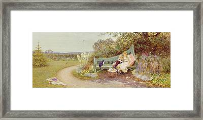 The Picture Book Framed Print by Thomas James Lloyd