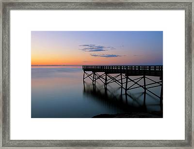 The Pier Framed Print by Andrea Galiffi