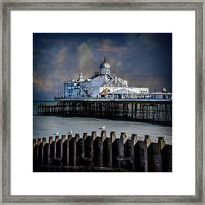 The Pier At Eastbourne Framed Print by Chris Lord
