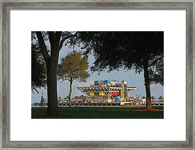 The Pier - St. Petersburg Fl Framed Print