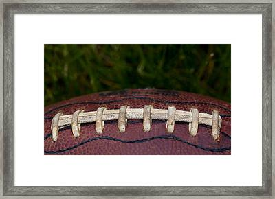 The Pigskin Framed Print by David Patterson