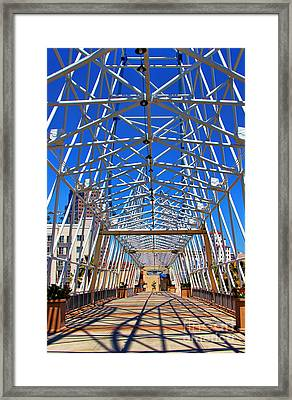 The Pike In Long Beach Framed Print by Mariola Bitner
