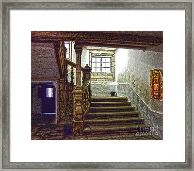The Pilgrimage Framed Print by Andrew Middleton
