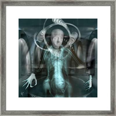 The Pilot Framed Print