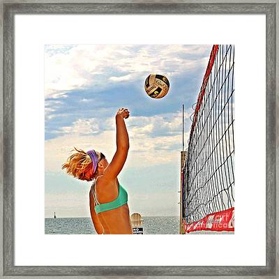 The Pink Bomba Framed Print by Scott Allison