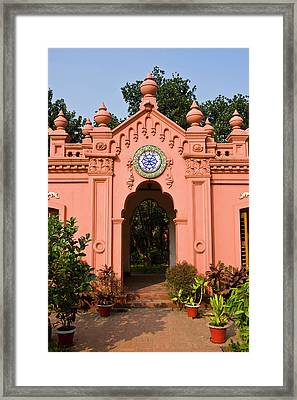 The Pink Colored Ahsan Manzil Palace Framed Print