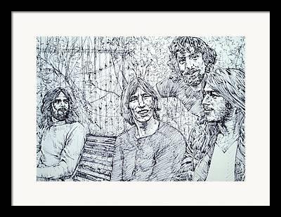 Pink Floyd Drawings Framed Prints