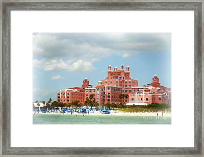 The Pink Palace Framed Print