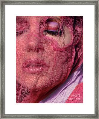 The Pink Scarf Framed Print by Jeff Breiman