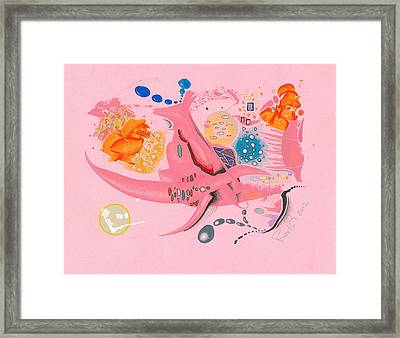 The Pink Space Framed Print by Ralf Schulze