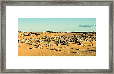 The Pinnacles Australia Framed Print by Yew Kwang
