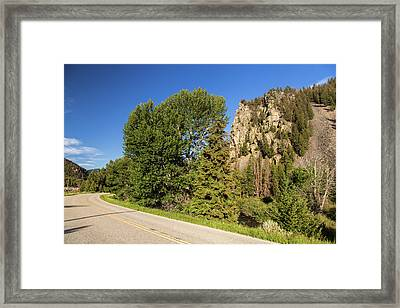 The Pioneer Scenic Byway Framed Print by Chuck Haney