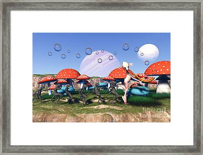 The Piper Of Freas Framed Print by Russell Smeaton