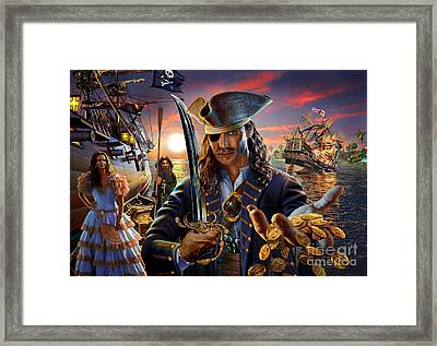 The Pirate Framed Print by Adrian Chesterman