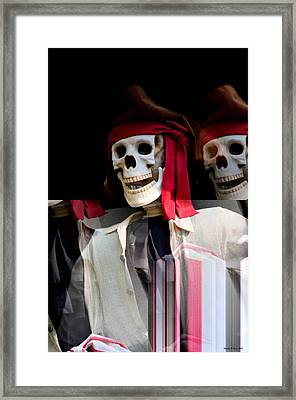 The Pirate's Ghost Framed Print by Maria Urso