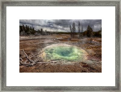 The Pit Framed Print by Stuart Deacon