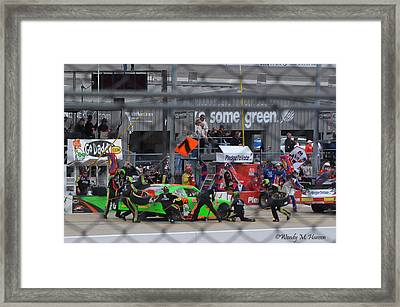 The Pits Framed Print