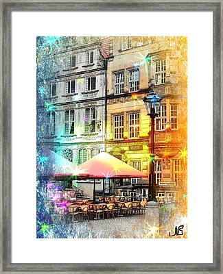 Framed Print featuring the photograph The Place by Nico Bielow