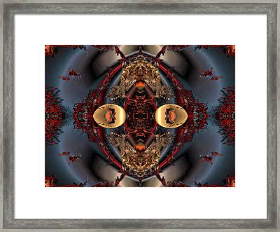 The Place Of Reconciliation Framed Print by Claude McCoy