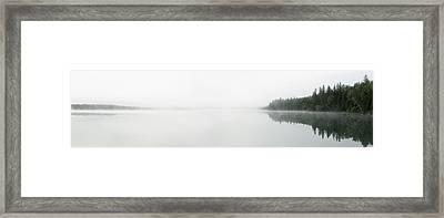 The Place Where Air Meets Water Framed Print