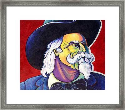 The Plainsmen - Buffalo Bill Cody Framed Print by Joe  Triano
