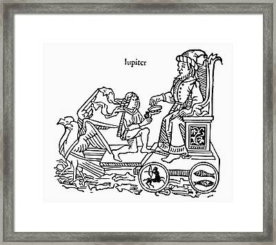 The Planet Jupiter, 1482 Framed Print