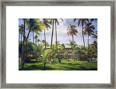 The Plantation Framed Print by Laurie Search