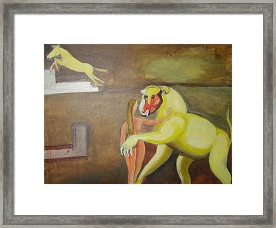 The Play Framed Print by Prasenjit Dhar
