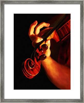 The Player Framed Print by Dennis Buckman