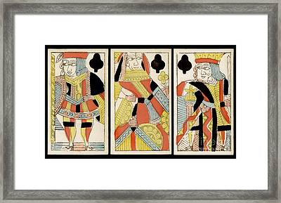 The Players Club Framed Print by Jon Neidert