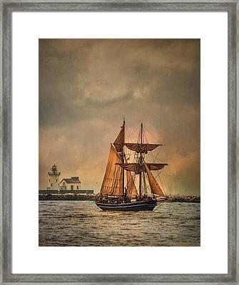 The Playfair Framed Print