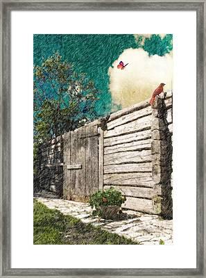 The Playful Spirits  Framed Print