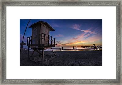 The Playground Framed Print by Sean Foster