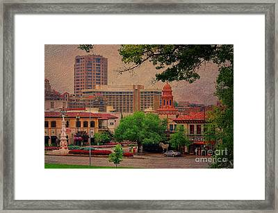 The Plaza - Kansas City Missouri Framed Print