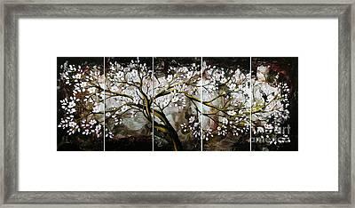 The Plum Blossom 001 Framed Print by Willson Lau